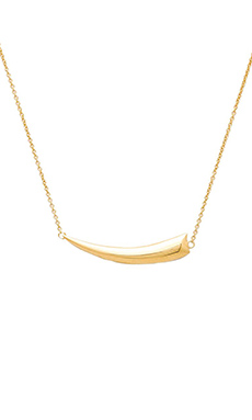 Jacquie Aiche Claw Necklace in Gold