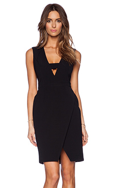 JAGGAR Blackbird Dress in Black