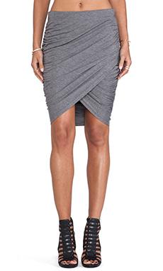 JAGGAR Animal Instincts Skirt in Grey Marle