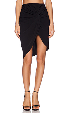 JAGGAR Good Morning Skirt in Black