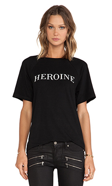 JAGGAR Heroine Tee in Black