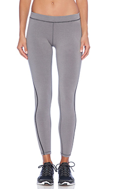 James Perse Spiral Seam Yoga Pant in Olympic