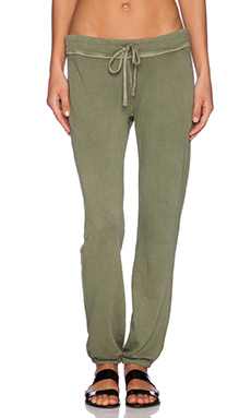 James Perse Genie Sweatpant in Brigade