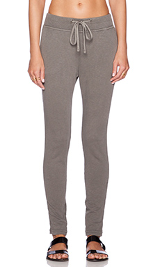 James Perse Slim Sweatpant in Burro