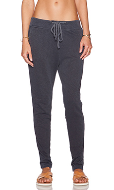 James Perse Slim Sweat Pant in Prussian