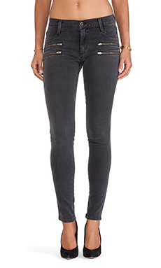 James Jeans James Twiggy Crux Zip Legging in Slate