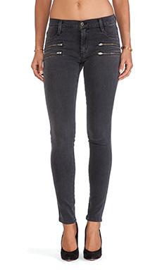 James Jeans James Twiggy Crux Zip Legging en Ardoise