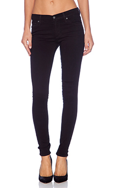 James Jeans James Twiggy 5 Pocket Legging in Black Clean