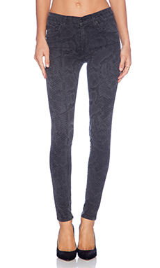 James Jeans James Twiggy 5 Pocket Legging in Venom Slate