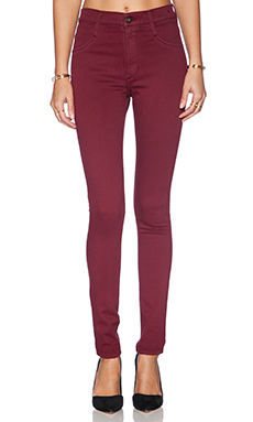 James Jeans James Twiggy High Class Skinny in Ruby