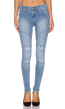 James Jeans Moto Motorcycle Skinny in Stream