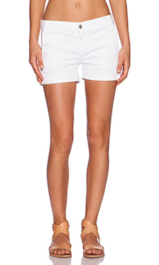 James Jeans Olivia Trouser Short in Frost White