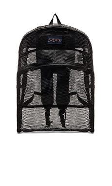 Jansport Mesh Pack in Black