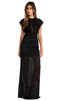 JARLO Tru Maxi Dress in Black