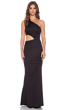 JARLO Verena Maxi Dress in Black
