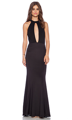 JARLO Jolie Maxi Dress in Black