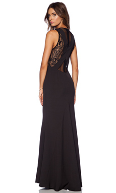 JARLO Dominica Maxi Dress in Black