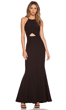 JARLO Elenora Maxi Dress in Black
