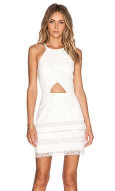 JARLO Harlow Dress in Ivory