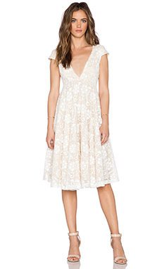 JARLO Hartley Dress in White Lace