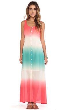 JARLO Luna Dress in Coral