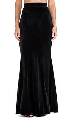 JARLO Primrose Maxi Skirt in Black
