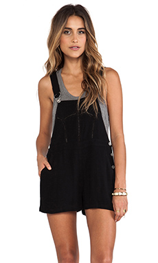 JARLO Indiana Overall in Black