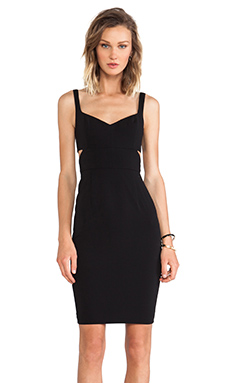 Jay Godfrey Latta Dress in Black