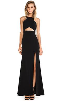 Jay Godfrey Gates Dress in Black