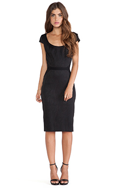 Jay Godfrey Singer Dress in Black