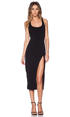 Jay Godfrey Witherspoon Dress in Black
