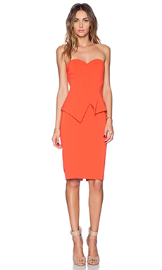 Jay Godfrey Tama Dress in Sunkist