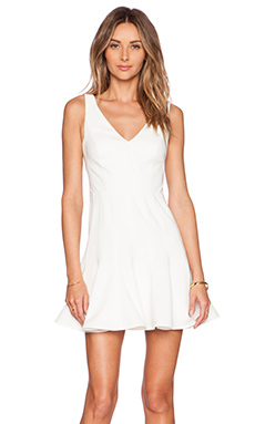 Jay Godfrey Spinks Dress in Lt. Ivory