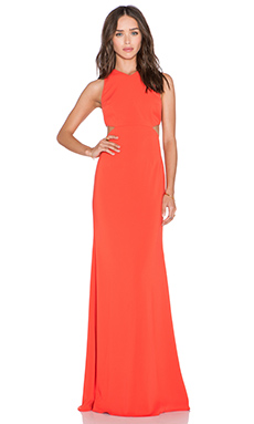 Jay Godfrey Fuji Maxi Dress in Sunkist