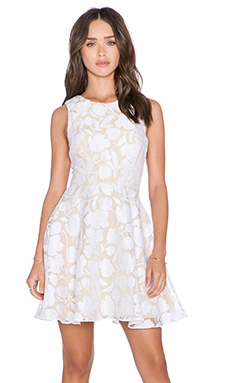 Jay Godfrey Bautista Dress in White