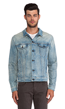 J Brand Lowell Trucker Jacket in Rhodes