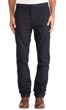 J Brand Rivet Trouser in Navy Heather