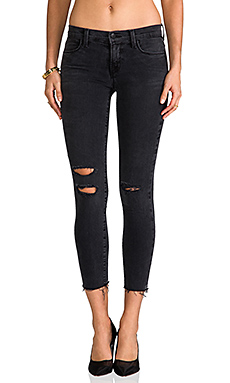 J Brand Mid Rise Crop in Mercy