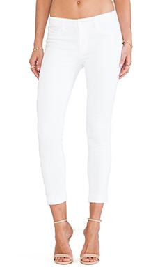 J Brand Anja Crop in Blanc