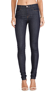 J Brand Jess Highrise Jean in Silent