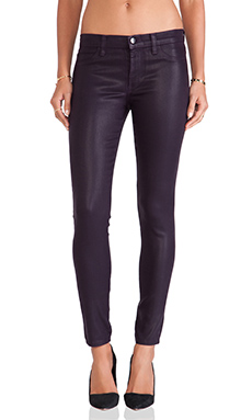 J Brand Berry Jean in Lacquered Black