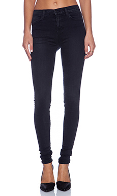 J Brand Jess High Rise Stacked Skinny in Digital
