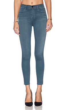 J Brand High Rise Alana Crop in Impulse