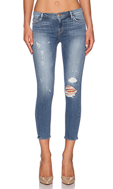 J Brand Mid Rise Crop in Pulse