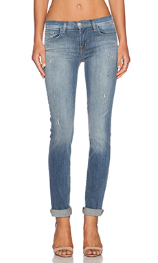 J Brand Jude Mid Rise Skinny in Mesmerize