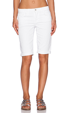 J Brand Awaken Bermuda Short in White