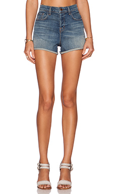 J Brand Hi Cut Denim Short in Jagger