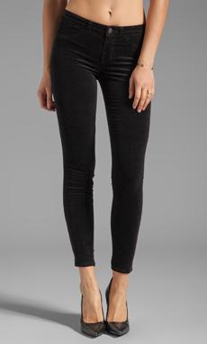 J Brand Velvet Skinny in Black