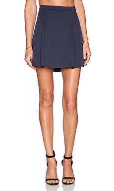 J Brand Rhodes Skirt in Dark Navy