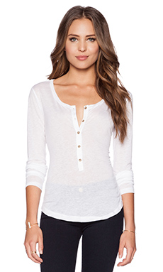 J Brand Gretchen Tee in White